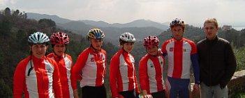 Kadra kolarek szosowych przebywa na zgrupowaniu we Włoszech.