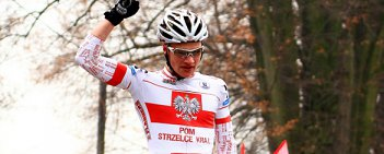 Michał Paluta (LKS POM Strzelce Krajeńskie) wygrał wyścig juniorów, podczas XIX edycji Bryksy Cross, przełajowego wyścigu kategorii C2, który odbył się w Gościęcinie