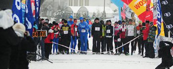 XXIV Warszawski Triathlon Zimowy 2013 na warszawskich Stegnach