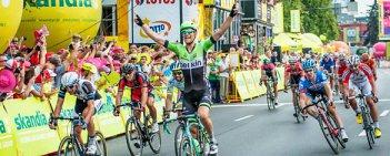 3. etap 71. Tour de Pologne z Kielc do Rzeszowa. Polacy znów uciekali.