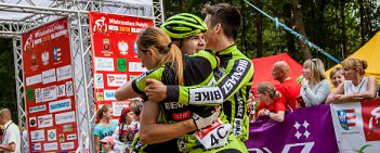 Drużyna KCP Elzap Bieniasz Bike została mistrzem Polski MTB w sztafecie. Srebro wywalczyła ekipa LKK LUKS Sławno, a brąz MTB Silesia Rybnik.
