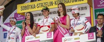 Małgorzata Jasińska (Ale Cipollini) została mistrzynią Polski kobiet w wyścigu ze startu wspólnego. W walce o złoto pokonała Katarzynę Wilkos (TKK Pacific Nestle Fitness) i Paulinę Brzeźną-Bentkowską.