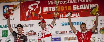 Marek Konwa (64-sto Leszno MTB Team) obronił tytuł mistrza Polski MTB sprzed roku w elicie mężczyzn. Srebro wywalczył Bartłomiej Wawak (KROSS Racing Team), a brąz Piotr Brzózka (JBG2 Professional MTB Team).