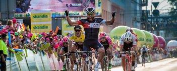Matteo Pelucchi (IAM Cycling) wygrał 2. etap Tour de Pologne, który kończył się na ulicach Dąbrowy Górniczej. Liderem klasyfikacji generalnej pozostał Marcel Kittel (Giant-Alpecin).