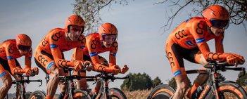 Mistrzostwa Polski w kolarstwie szosowym drużyn w jeździe na czas - Godziesze Wielkie 2015