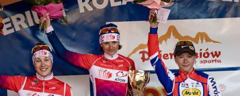 Dzierżoniów 2016: wyścig elity kobiet i juniorek