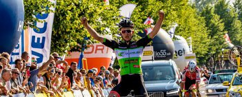 Mistrzostwa Polski w kolarstwie szosowym - Świdnica 2016: wyścig juniorów