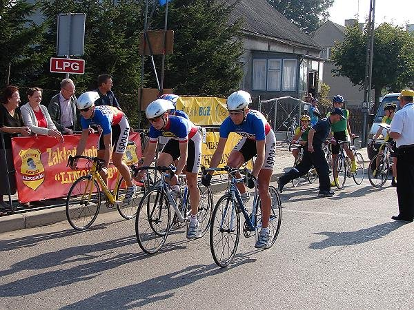 Drużynowe Mistrzostwa Polski juniorów w kolarstwie szosowym 2007.